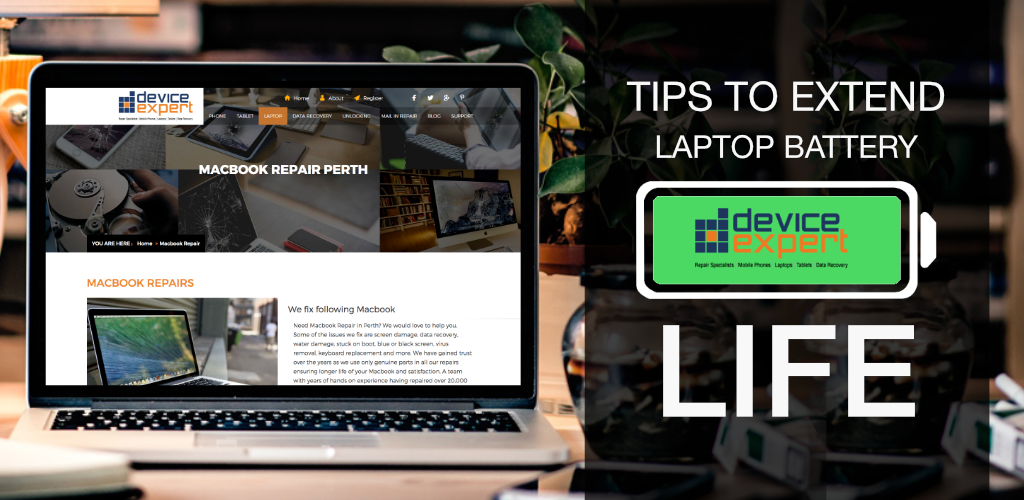 Tips for Longer Laptop Battery Life