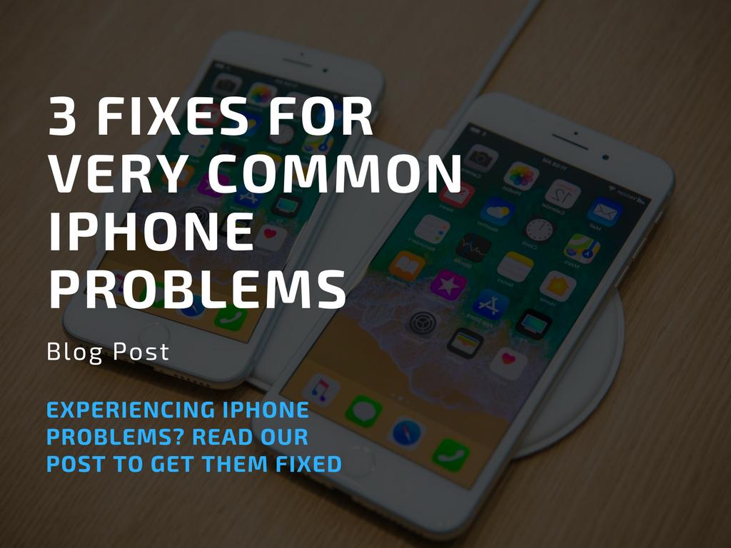 common iphone problems