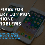 common iphone problems