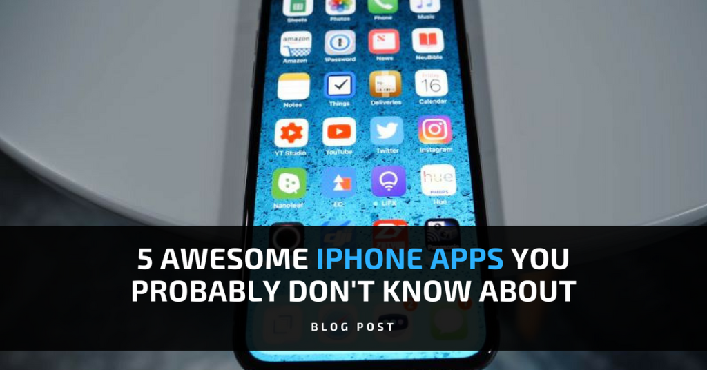 5 awesome iphone apps probably dont know